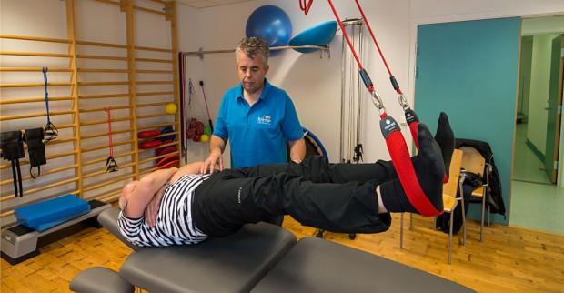 Fysioterapaut Øyvind Øie